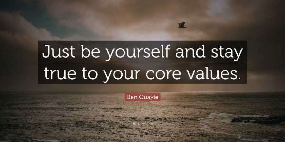 Being True To One's Values And Principles