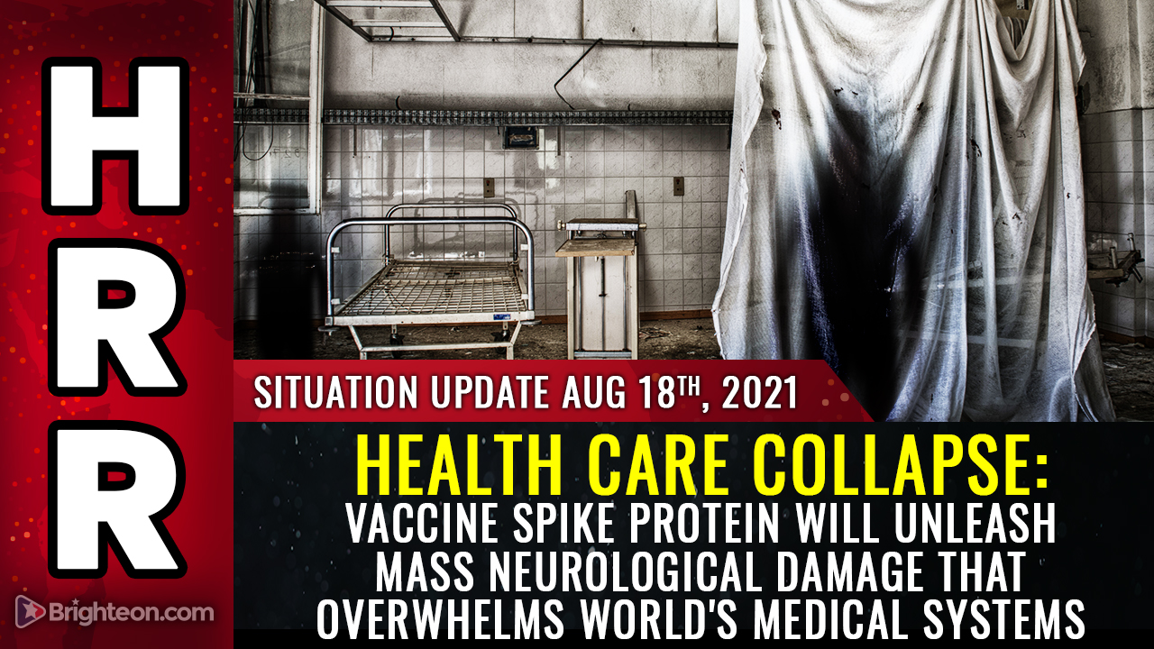 HEALTH CARE COLLAPSE warning: Vaccine spike protein will unleash widespread neurological damage that overwhelms world's medical systems – NaturalNews.com