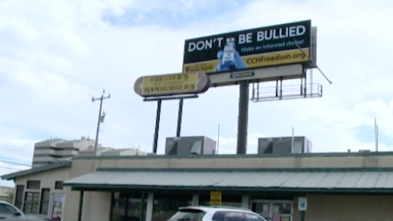 San Antonio Democrats Triggered By Pro-choice Vaccine Billboards Promoting Informed Consent