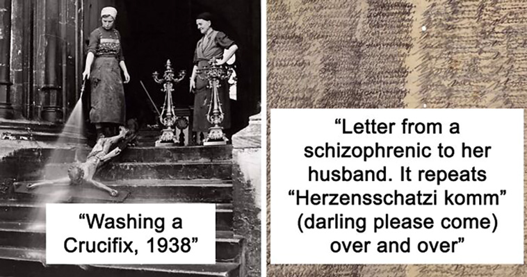 40 Times People Shared Creepy Old Pics